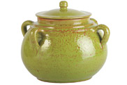 Green vegetable pot