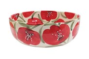 Deep-salad-bowl-23x8cm-and-28x9cm---Roses-on-white
